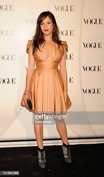 Veronica Sanchez arrives to the 'VII Vogue Joyas Awards' at the Madrid Stock Exchange Building on June 10 2010 in Madrid Spain