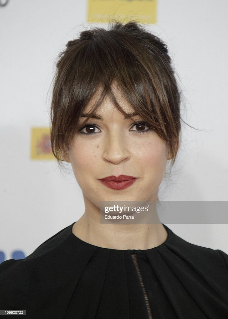 Veronica Sanchez attends Jose Maria Forque awards photocall at Canal theatre on January 22, 2013 in Madrid, Spain.
