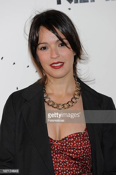 Veronica Sanchez attends 'Kenzo' party at the Canal de Isabel II Foundation on June 15 2010 in Madrid Spain