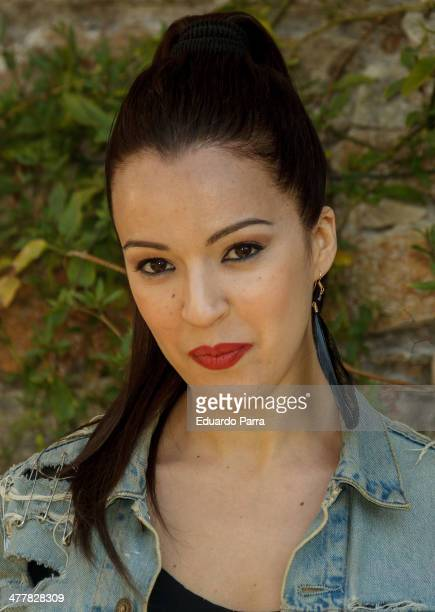 Veronica Sanchez attends 'Sin Identidad' Tv Serie Presentation at Navalmanzano street on March 11 2014 in Madrid Spain