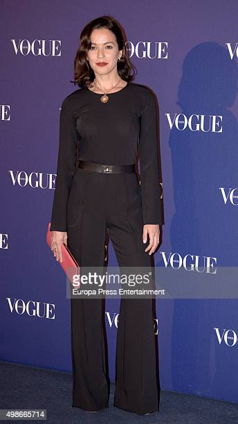 Veronica Sanchez attends Vogue Joyas 2015 Awards at Ritz Hotel on November 24 2015 in Madrid Spain