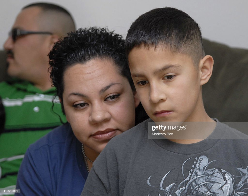 small boy s heart pictures getty images veronica sanchez sits her son gabe sanchez 12 who was born