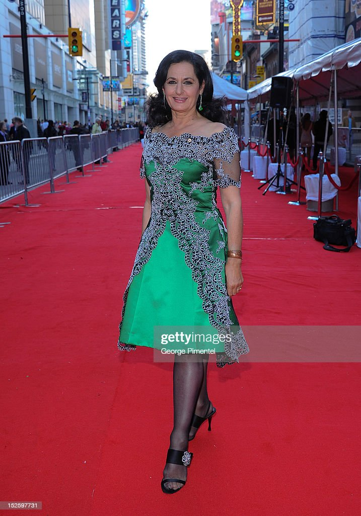 Veronica Tennant attends the 2012 Canada's Walk of Fame Awards at Ed Mirvish Theatre on September 22, 2012 in Toronto, Canada.