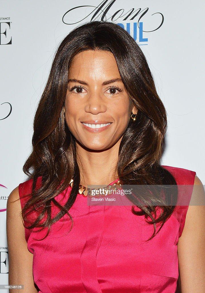 Veronica Webb attends 2013 Mom Mogul Breakfast at Bond 45 on May 7, 2013 in New York City.