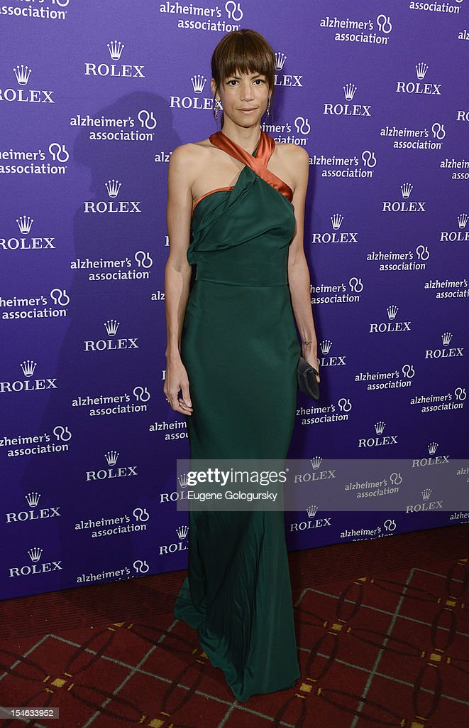 Veronica Webb attends the 2012 Alzheimer Association Rita Hayworth Gala at The Waldorf Astoria on October 23, 2012 in New York City.