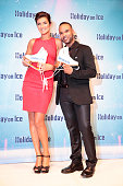 Veronika Belyavskaya and Joseph Guyton alias Nica and Joe during a photo call for the new Hoilday on Ice show 'Believe' at Kehrwieder Theater on...