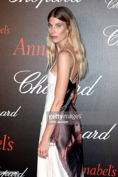 Veronika Heilbrunner attends the Annabel's Chopard Party during the 70th annual Cannes Film Festival at Martinez Hotel on May 24 2017 in Cannes France