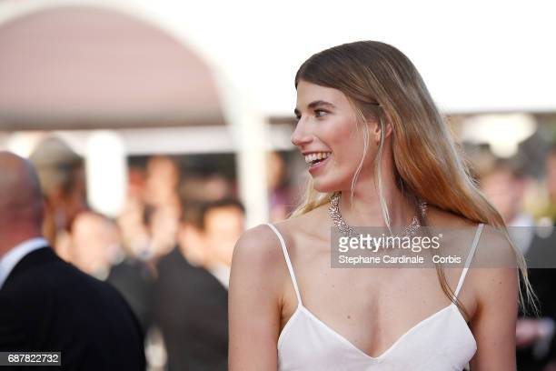 Veronika Heilbrunner attends 'The Beguiled' premiere during the 70th annual Cannes Film Festival at Palais des Festivals on May 24 2017 in Cannes...