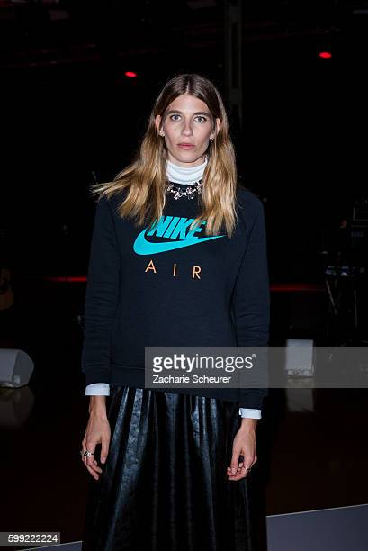 Veronika Heilbrunner attends the Zalando fashion show during the Bread Butter by Zalando at arena Berlin on September 4 2016 in Berlin Germany