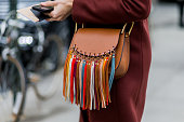 Veronika Heilbrunner wearing a Chloe bag seen outside Boss during New York Fashion Week Women's Fall/Winter 2016 on February 17 2016 in New York City