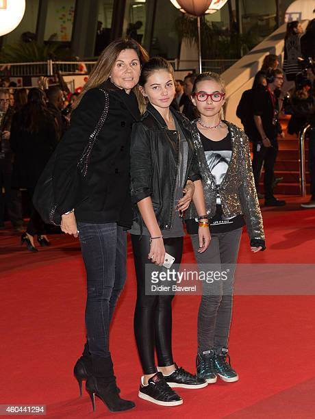 Veronika Loubry attends the16th NRJ Music Awards at Palais des Festivals on December 13 2014 in Cannes France