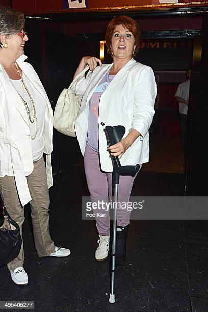 Veronique Genest attends the 'Merci Quand Meme' Special Launching Show at ' La Grand Comedie' Theater on June 2 2014 in Paris France