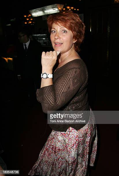 Veronique Genest during SpiderMan 3 Paris Premiere Inside Arrivals at Le Grand Rex Theater in Paris France