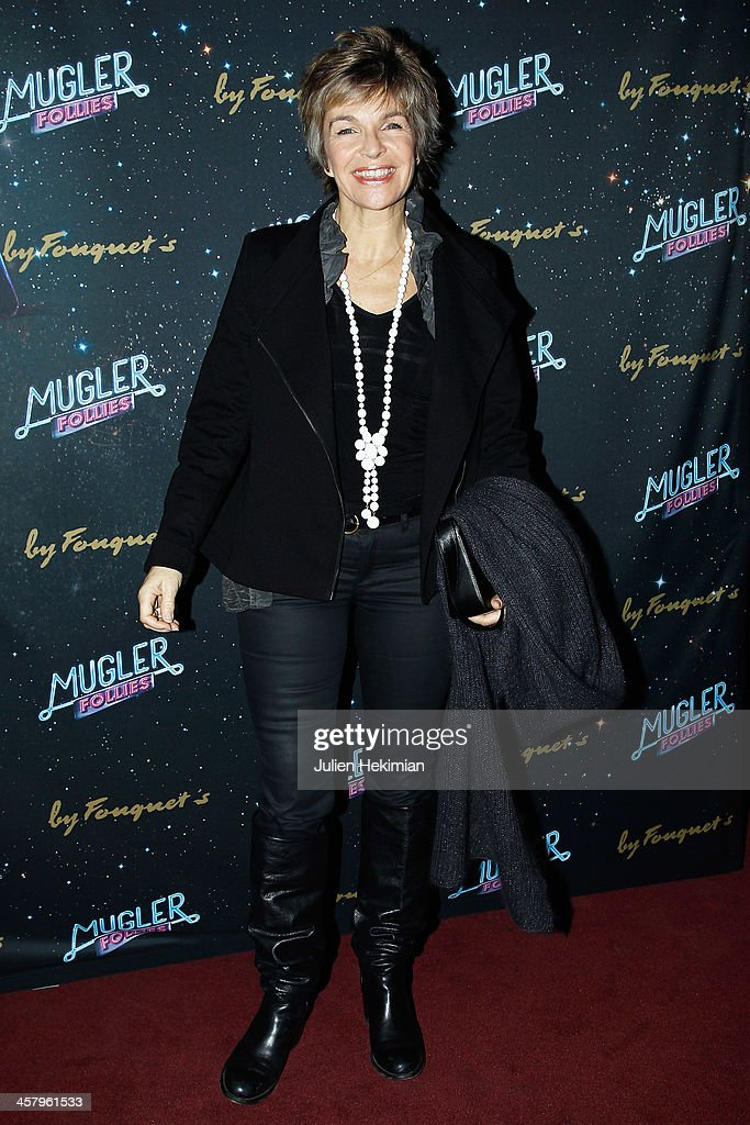 Veronique Jannot attends 'Mugler Follies' Paris New Variety Show - Premiere on December 19, 2013 in Paris, France.