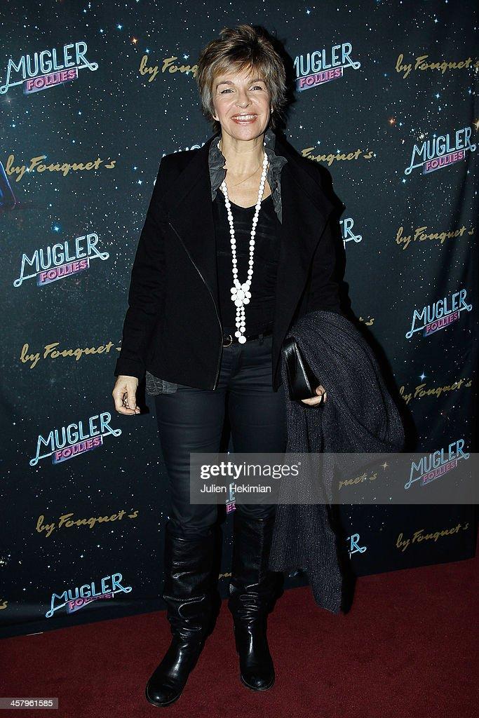 Veronique Jannot attends 'Mugler Follies' Paris New Variety Show - Premiere on December 19, 2013 in Paris, France.