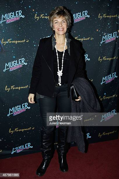 Veronique Jannot attends 'Mugler Follies' Paris New Variety Show Premiere on December 19 2013 in Paris France