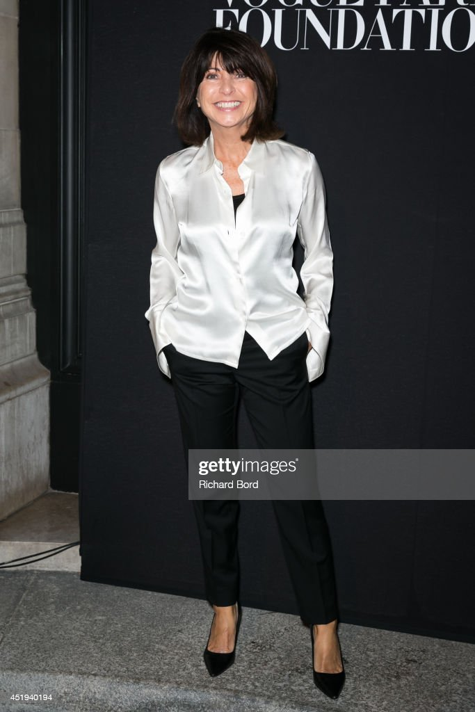 Veronique Nichanian attends the Vogue Foundation Gala as part of Paris Fashion Week at Palais Galliera on July 9, 2014 in Paris, France.