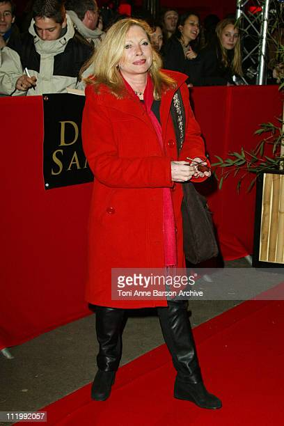 Veronique Sanson during 'The Last Samurai' Paris Premiere Outside Arrivals at Grand Rex in Paris France