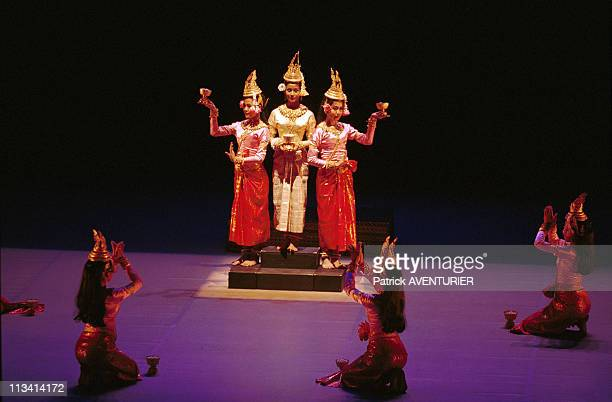 Versailles The Royal Ballet Of Cambodia On October 31st 1999 In VersaillesFrance