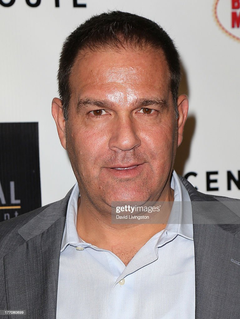 Vertical Entertainment co-president Mitch Budin attends the premiere of Vertical Entertainment's 'Scenic Route' at the Chinese 6 Theaters Hollywood on August 20, 2013 in Hollywood, California.