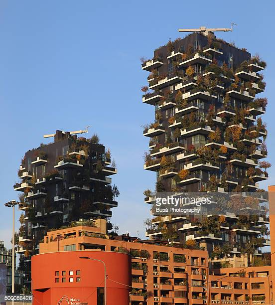 Vertical Forest towers in Milan, Italy