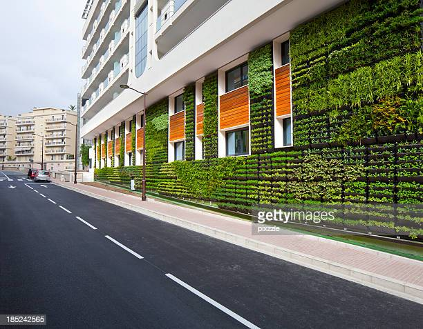 Vertical Garden Büro Wand City Umwelt Architektur