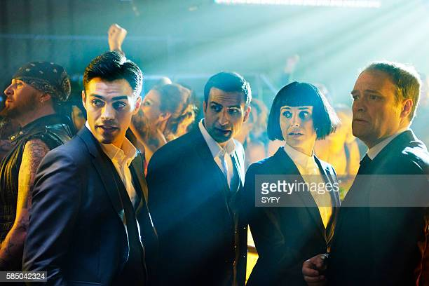 INCORPORATED 'Vertical Mobility' Episode 101 Pictured Sean Teale as Ben Larson Saad Siddiqui as Marcus Alex Castillo as Susan David Hewlett as Chad