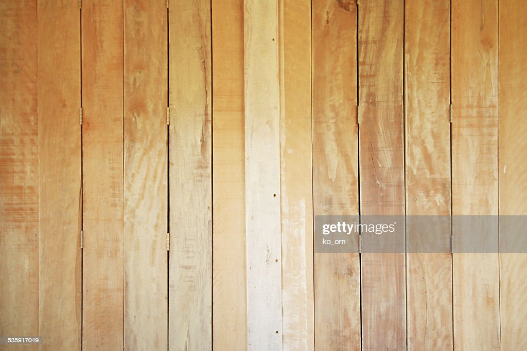 Vertical plank wood : Stock Photo