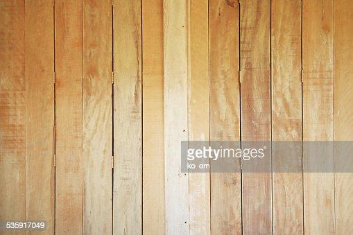 Vertical plank wood : Stock Photo