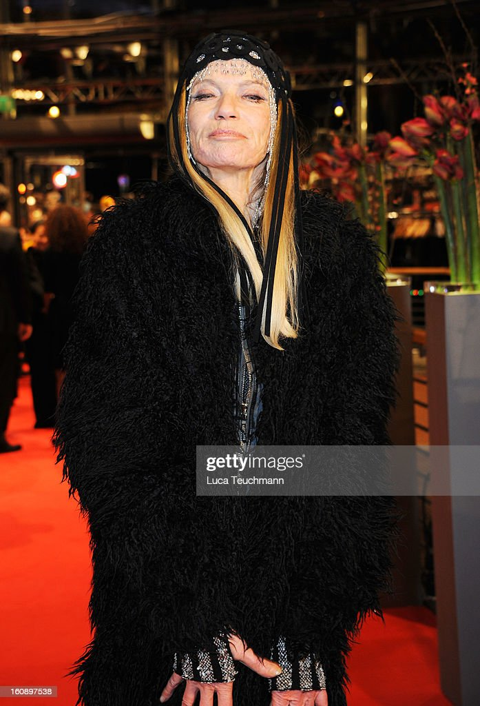 <a gi-track='captionPersonalityLinkClicked' href=/galleries/search?phrase=Veruschka&family=editorial&specificpeople=749611 ng-click='$event.stopPropagation()'>Veruschka</a> von Lehndorff attends 'The Grandmaster' Premiere during the 63rd Berlinale International Film Festival at Berlinale Palast on February 7, 2013 in Berlin, Germany.