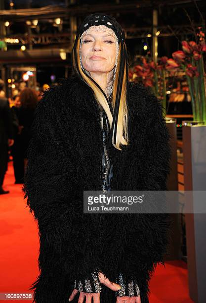 Veruschka von Lehndorff attends 'The Grandmaster' Premiere during the 63rd Berlinale International Film Festival at Berlinale Palast on February 7...