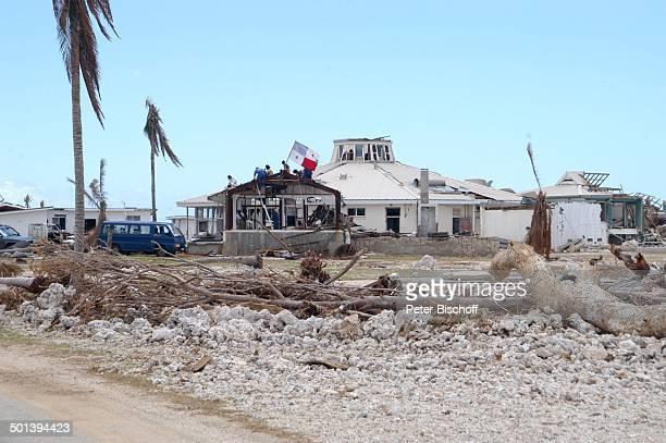 Verwüstete Landschaft Alofi Insel Niue Südsee Verwüstung Reise BB DIG PNr 167/2005