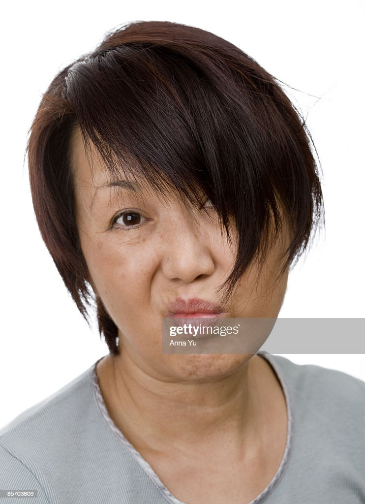 Very bad hair day : Stock Photo