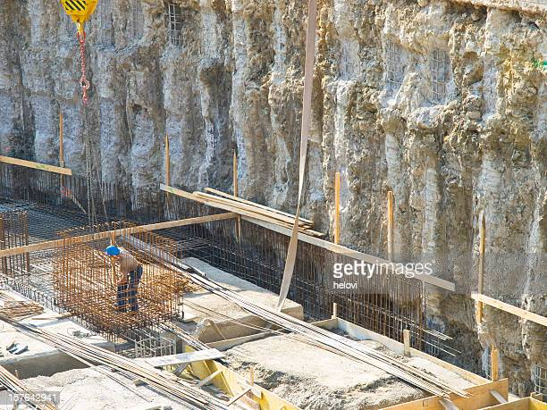 Very big construction pit