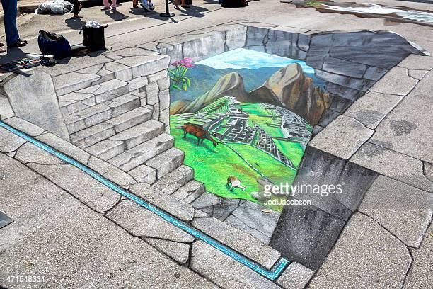 Molto fresche street art alla festa