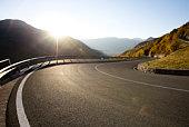 Very curvey road