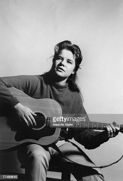 A very early portrait of Janis Joplin circa 1962 in Austin Texas