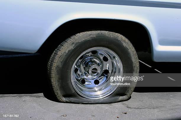 Sehr Reifenpanne