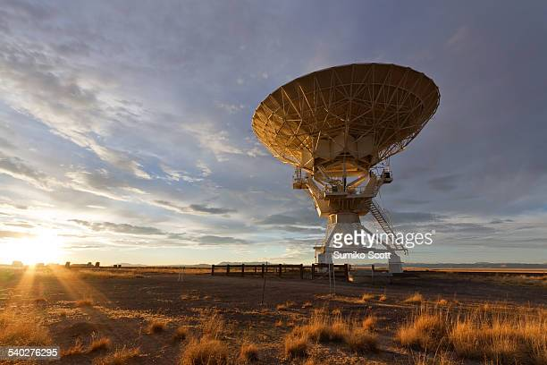 Very Large Array at Sunset, Soccoro, NM