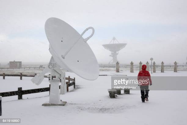 Very Large Array National Radio Astronomy Observatory visitor New Mexico
