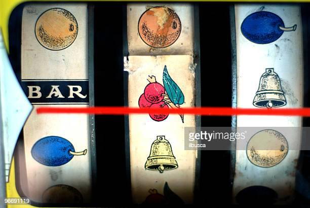 Molto vecchio slot machine visualizzazione