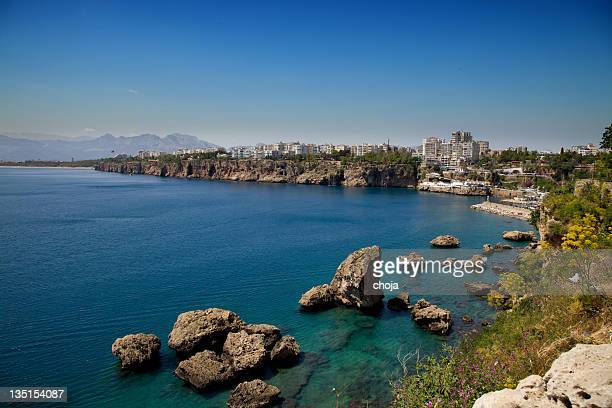Sehr beliebten touristischen Stadt Antalya in der südlichen Türkei