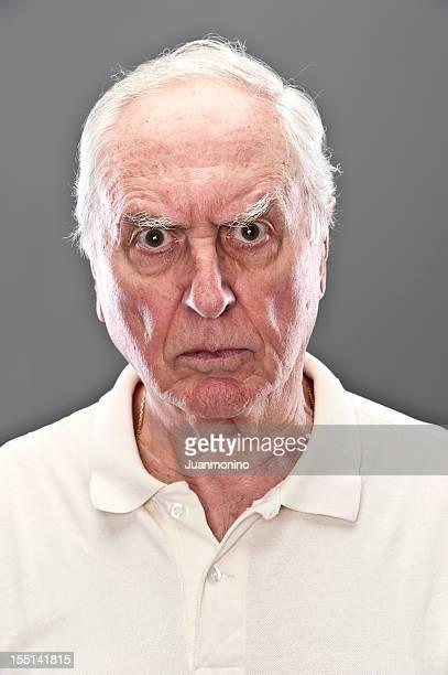 Very upset Senior Man (real people)