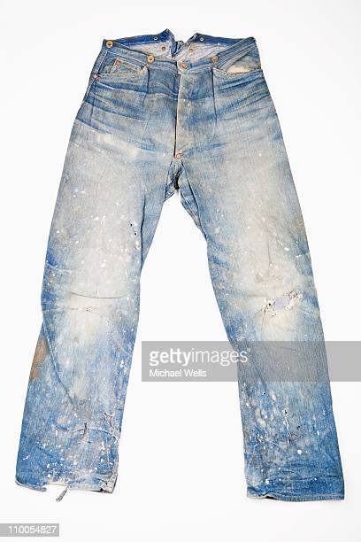 Very worn jeans