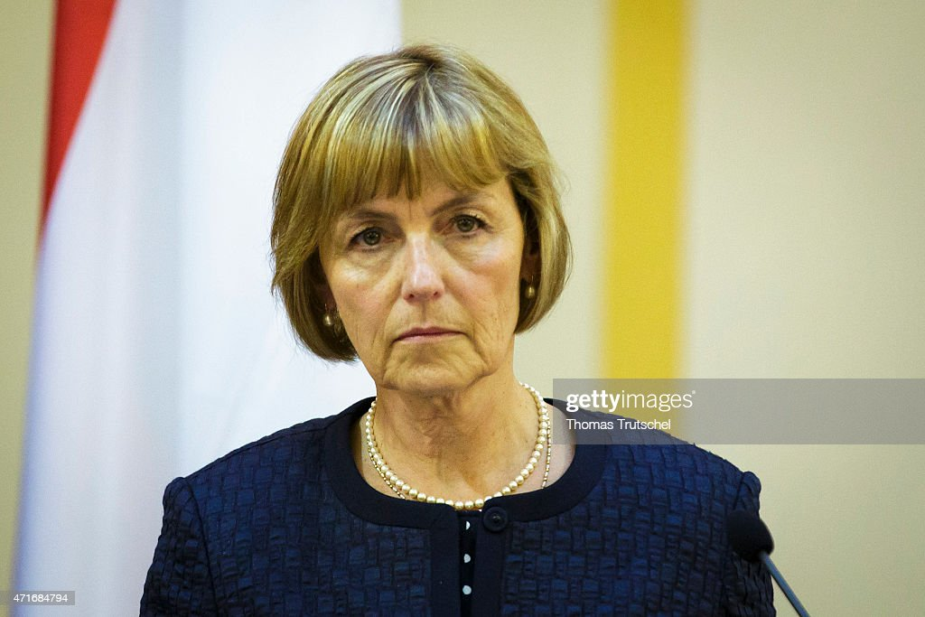 Vesna Pusic, Croatian Minister of Foreign and European Affairs, on April 30, 2015 in Zagreb, Croatia.