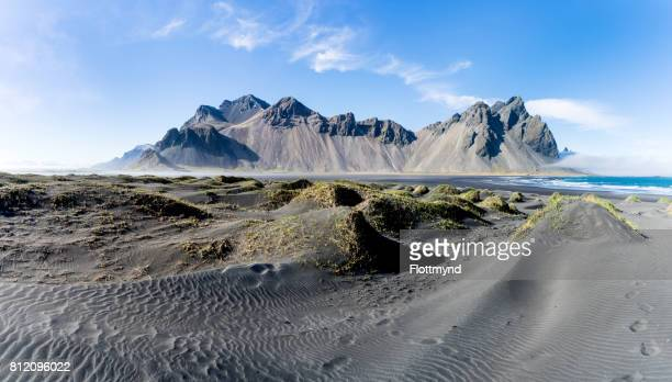 Vestrahorn is a 454 meter high mountain overlooking the Atlantic Ocean and part of the headland