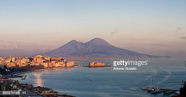 Vesuvio at sunset