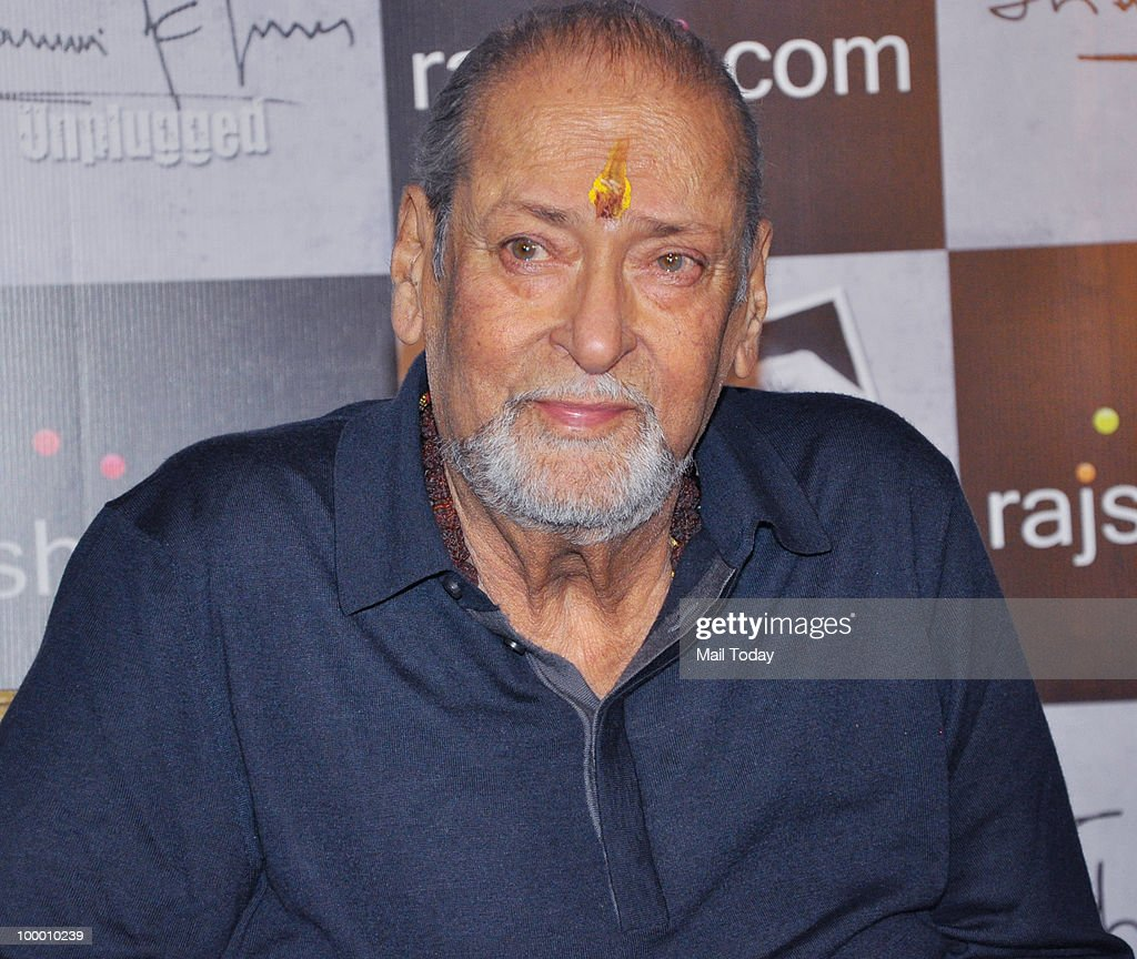 Veteran actor Shammi Kapoor at a promotional event in Mumbai on May 18, 2010.