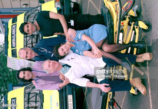 CASUALTY veteran Derek Thompson who plays Charlie Fairhead is joined by cast newcomers Gerald Kyd Robert Gwilym Pal Aron and front Jan Anderson in...
