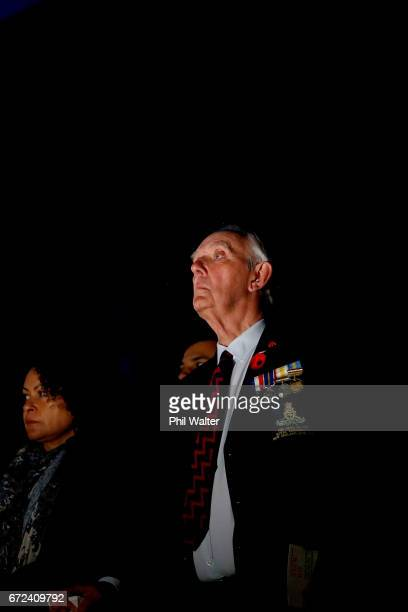 A veteran watches the Dawn Service at the Auckland War Memorial Museum on April 25 2017 in Auckland New Zealand In 1916 the first Anzac Day...